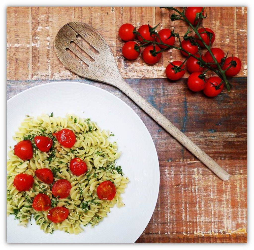 Pasta with Walnuts Pesto
