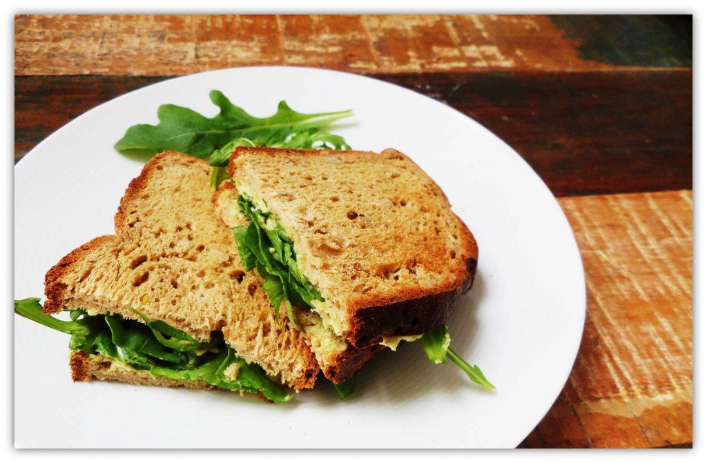 Sandwich rápido y sano