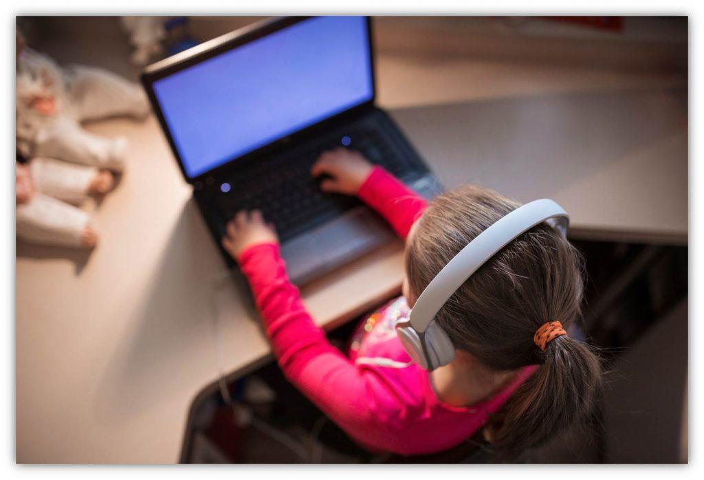 Internet en la infancia
